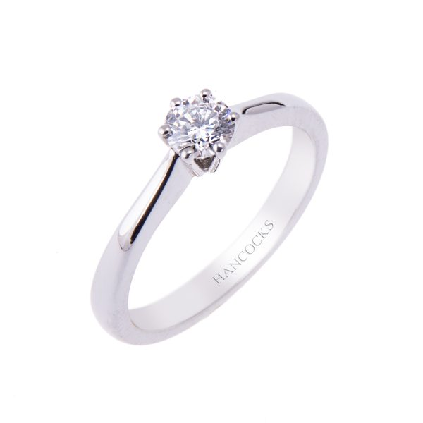 platinum-brilliant-cut-diamond-single-stone-ring-with-a 6-claw-setting