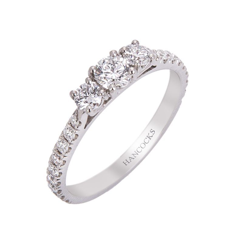 brilliant cut diamond engagement ring hancocks jewellers HC 100719 72