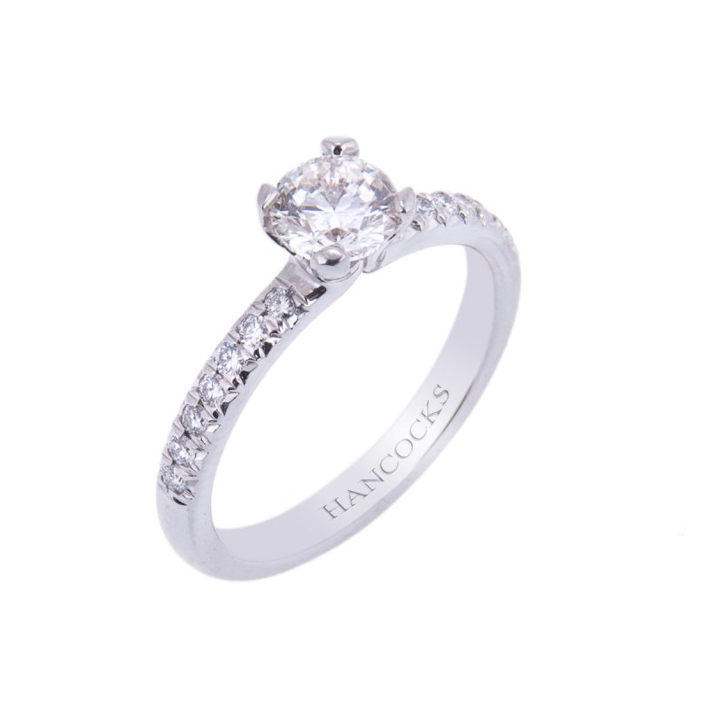 patinum-brilliant-cut-diamond-single-stone-ring