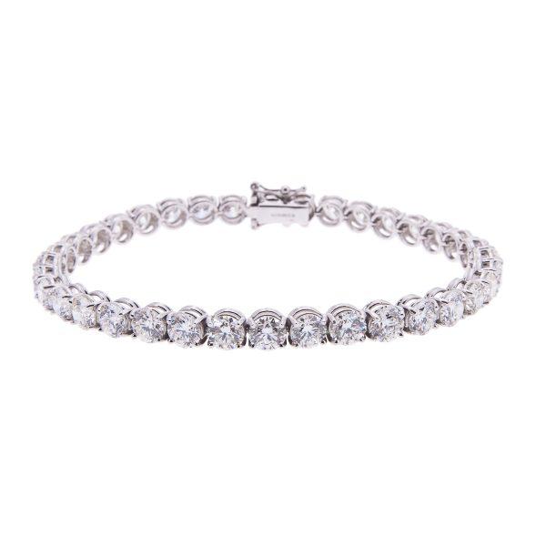 claw-set-brilliant-cut-diamond-bracelet