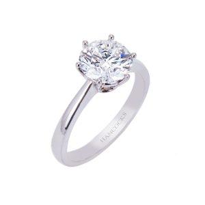 2.13ct certificated-brilliant-cut-diamond-ring