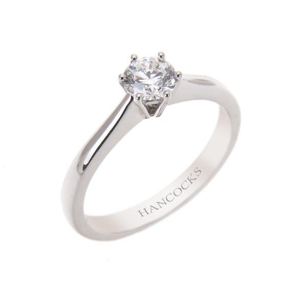 brilliant-cut-diamond-single-stone-ring-in-platinum