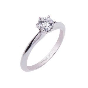 0.71ct-certificated-e-colour-brilliant-cut-diamond-ring