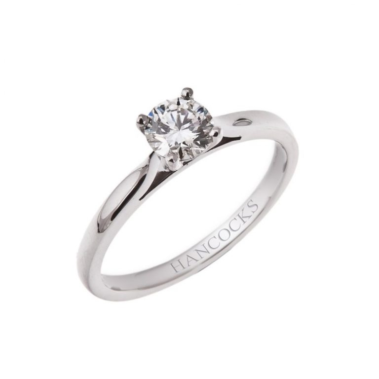 brilliant cut diamond solitaire engagement ring HH 12_1