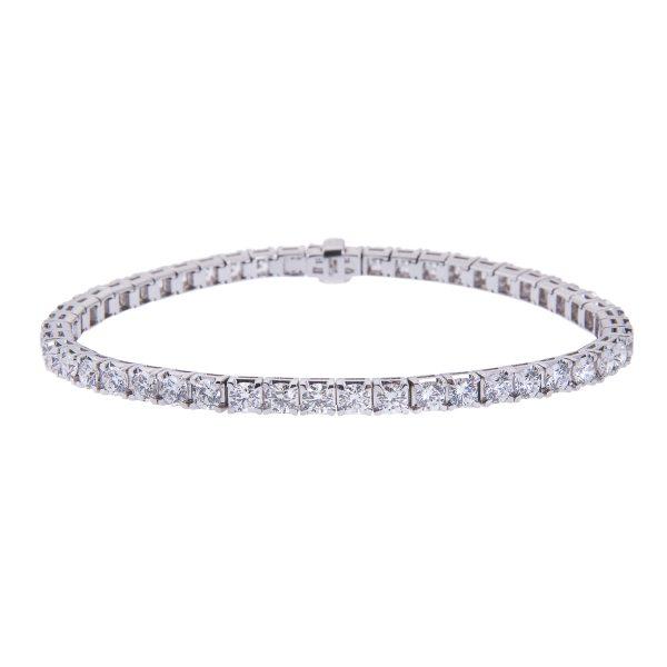 18ct-white-gold-claw-set-diamond-bracelet