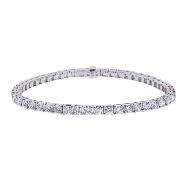 18ct-white-gold-claw-set-diamond-bracelet