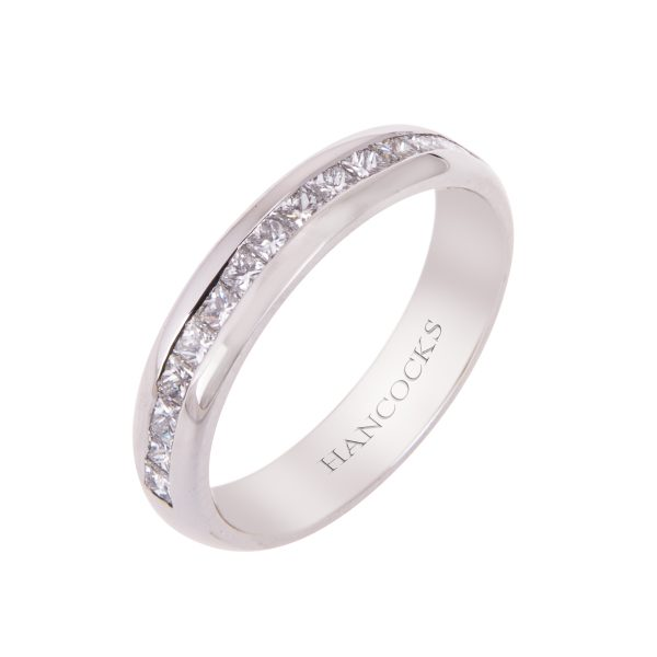 platinum-princess-cut-diamond-set-wedding-band-hancocks-manchester