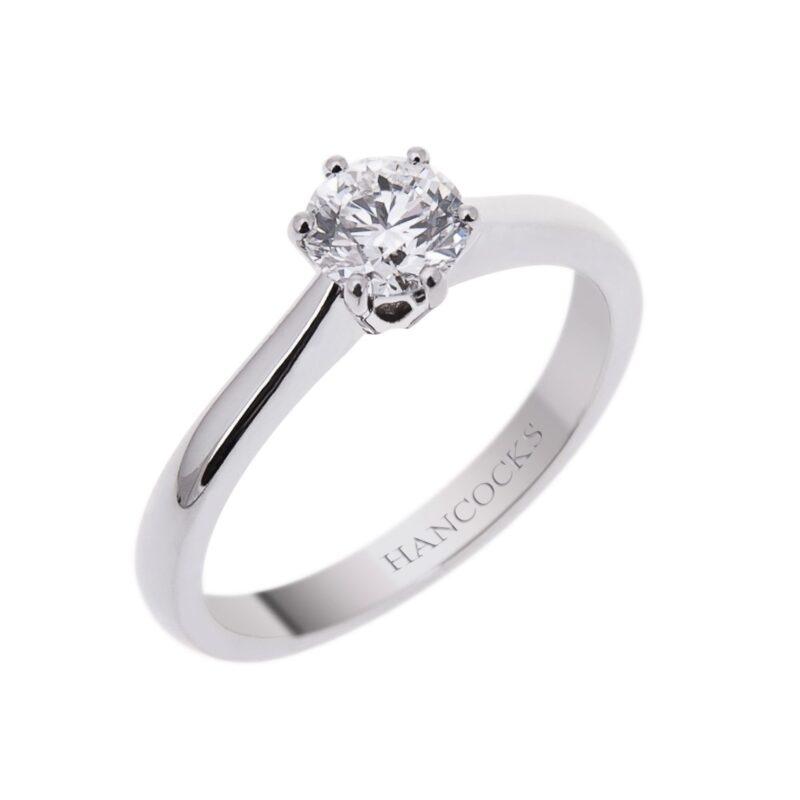 brilliant-cut-diamond-d-colour-engagement-ring