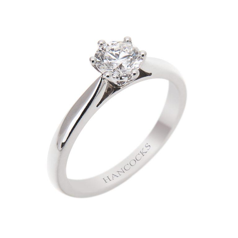 d colour brilliant cut diamond ring 3H 41