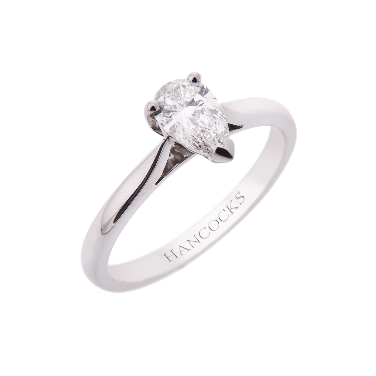 gia-certificated-pear-cut-diamond-single-stone-engagement-ring