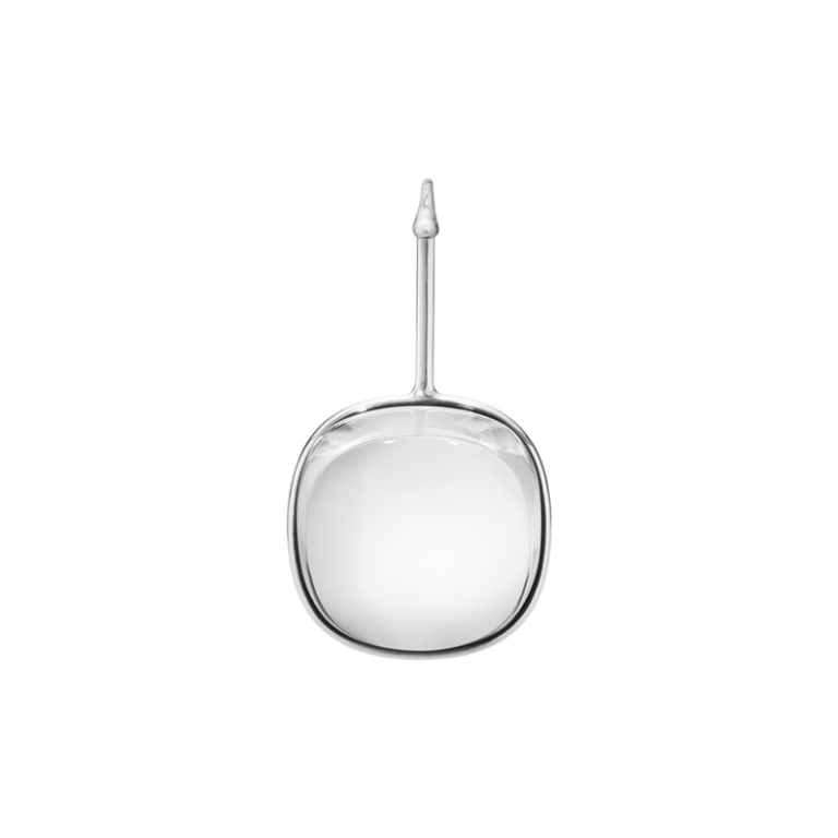 georg jensen dew drop rock crystal pendant ( neckring available separately)