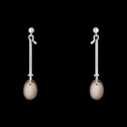 dew drop sq earrings