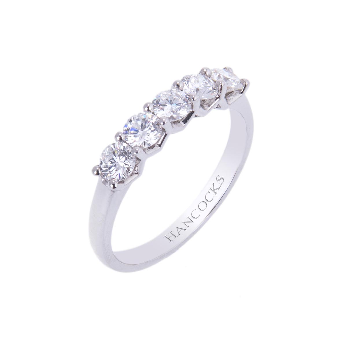 platinum-diamond-set-half-eternity-ring