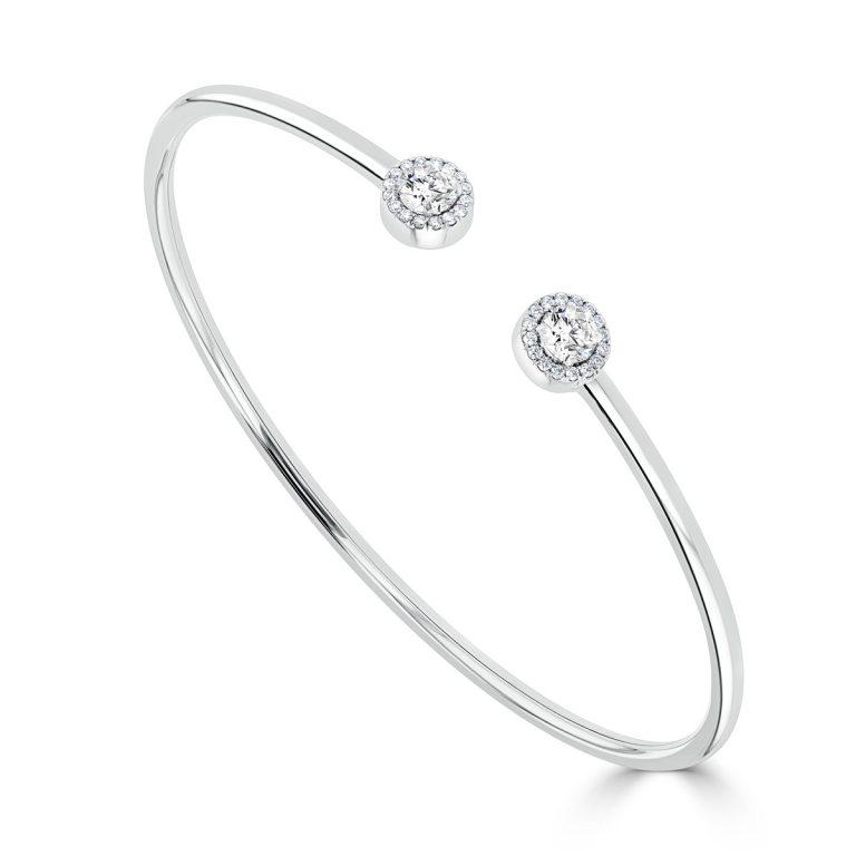 diamond set bangle B179 D437 copy   Copy