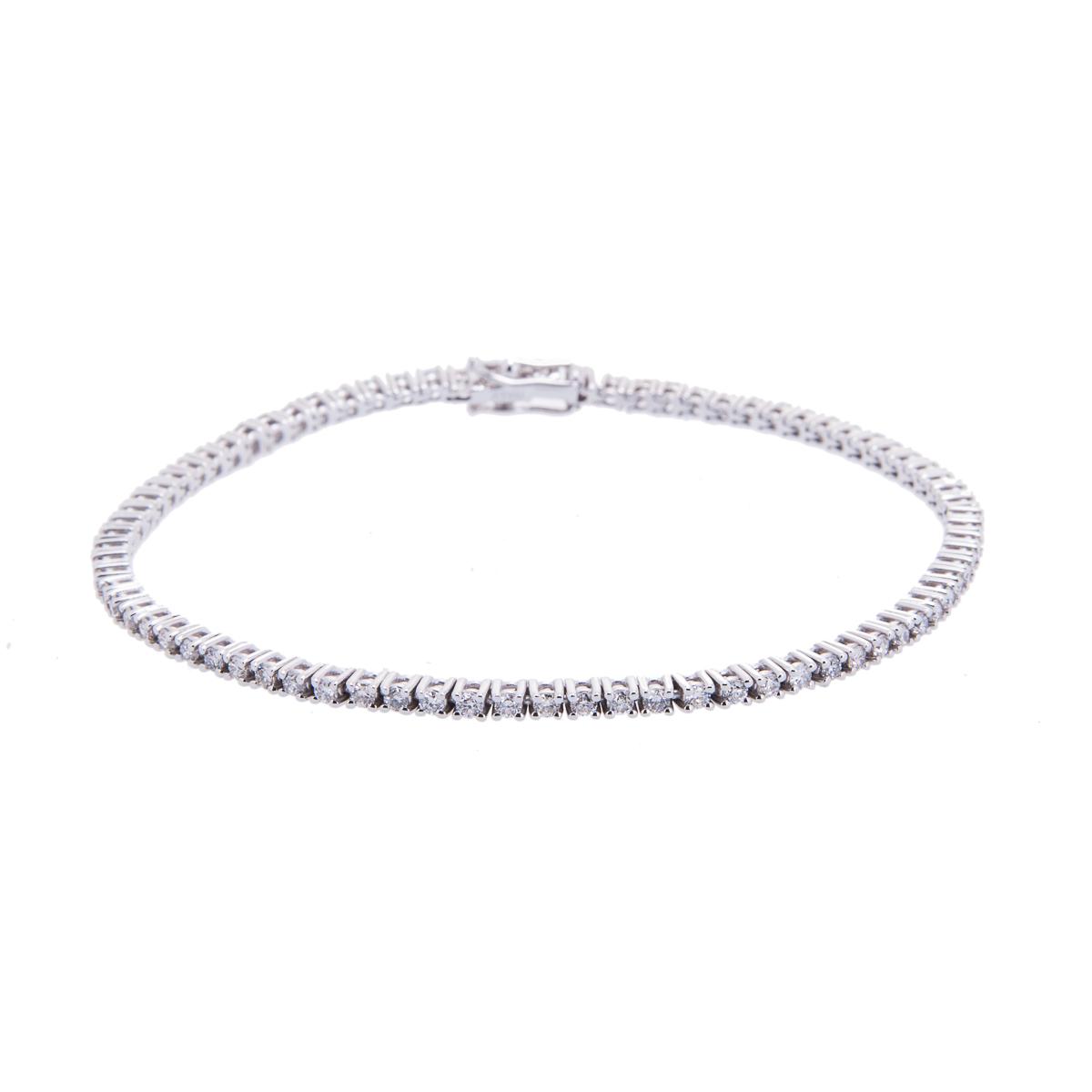 brilliant-cut-diamond-claw-set-bracelet