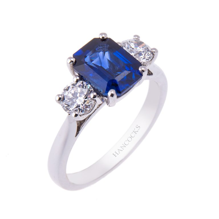 sapphire-and-diamond-3-stone-ring-hancocks-jewellers-manchester