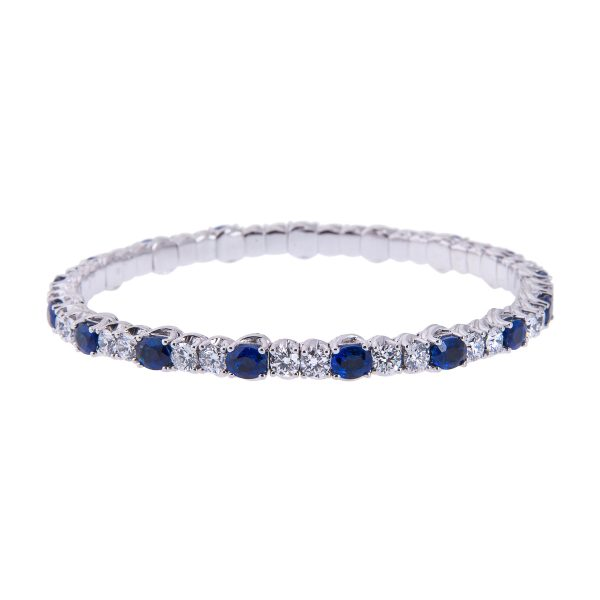 18ct-white-gold-oval-cut-sapphire-and-diamond-bracelet