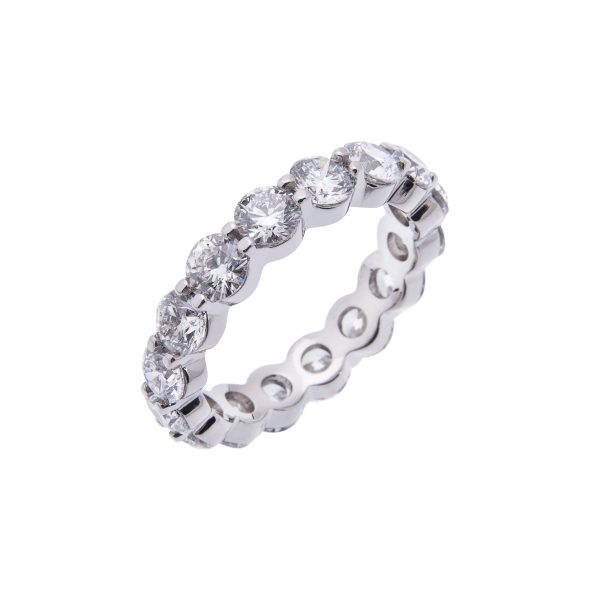 claw-set-brilliant-cut-diamond-eternity-ring-hancocks-manchester