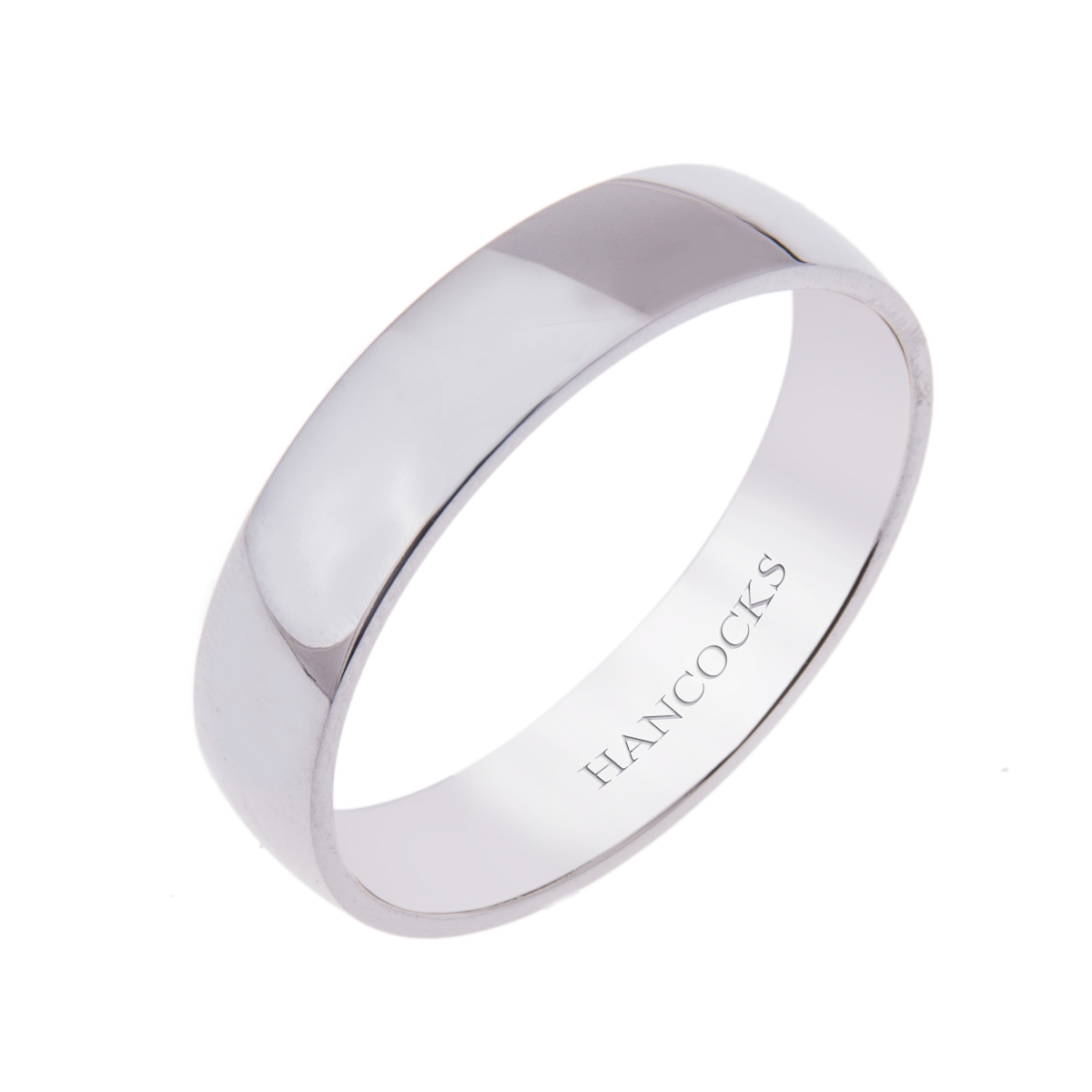 platinum-gents-polished-5mm-wedding-band