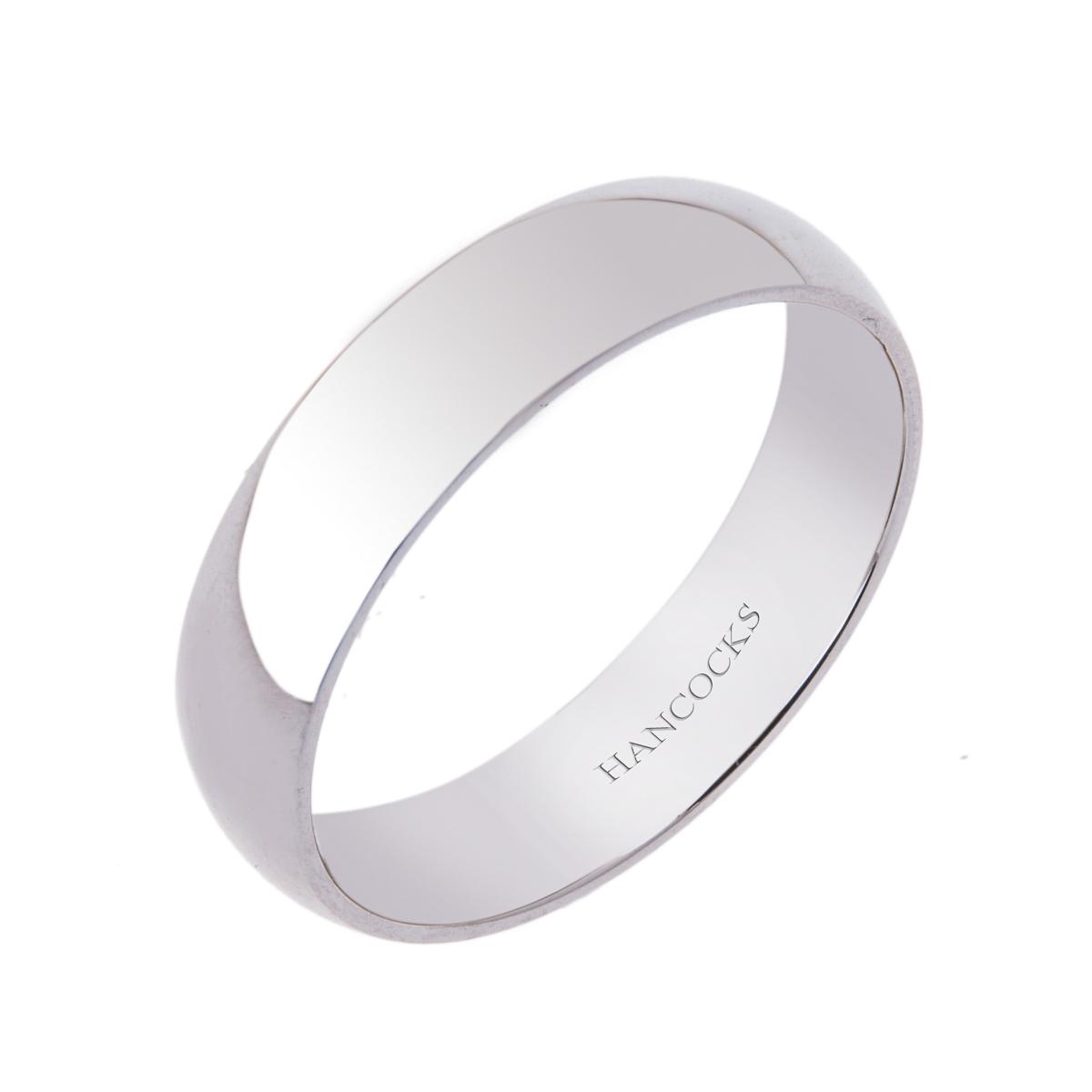 5mm-gents-polished-platinum-wedding-band