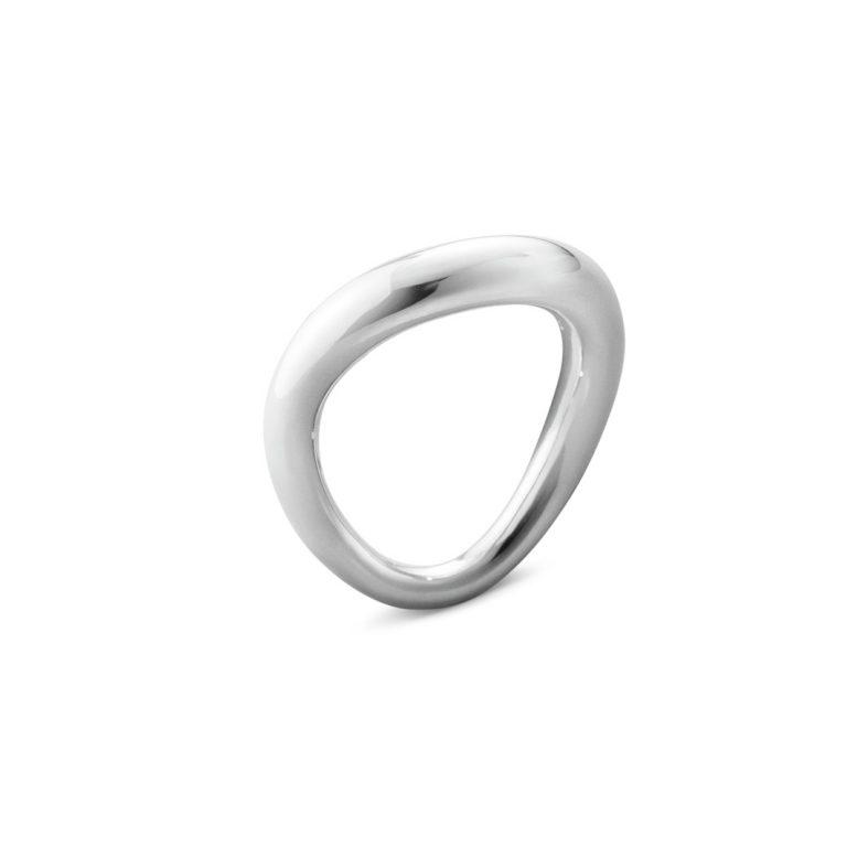 georg jensen silver offspring ring