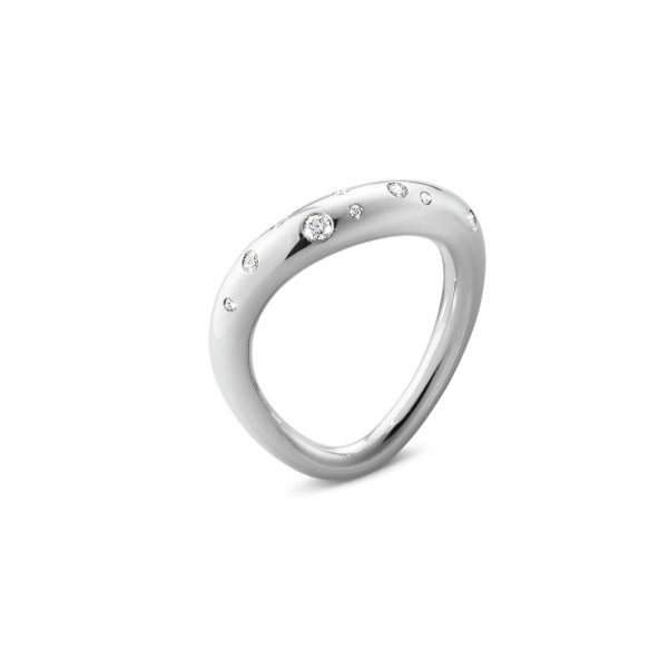 georg jensen offspring scattered diamond ring