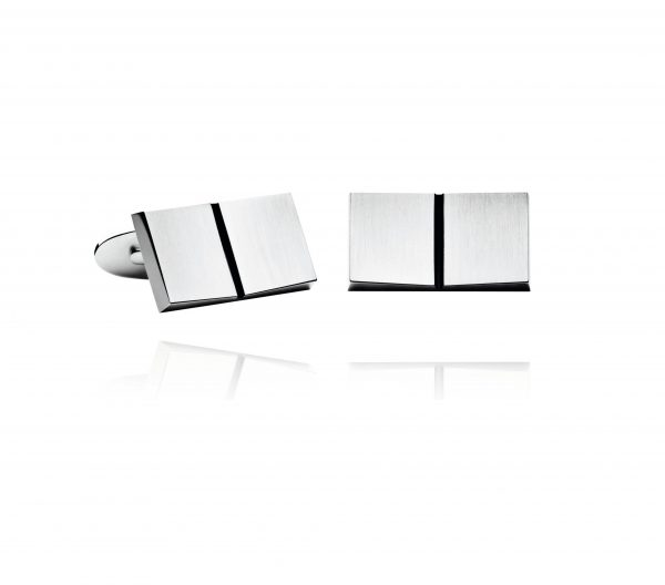 georg jensen silver open book cufflinks