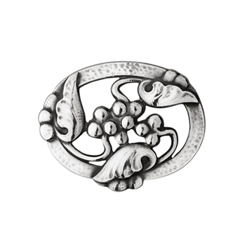 Moonlight Grapes Brooch