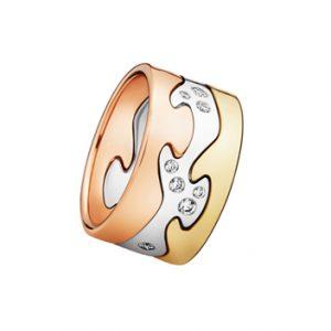 Diamond Set Fusion Ring