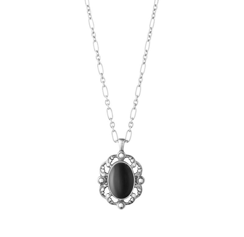georg jensen heritage 2018 black onyx pendant
