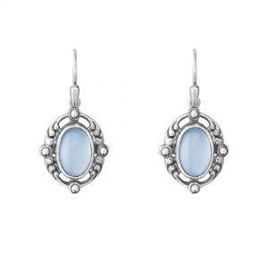 georg jensen heritage 2018 blue chalcedony earrings