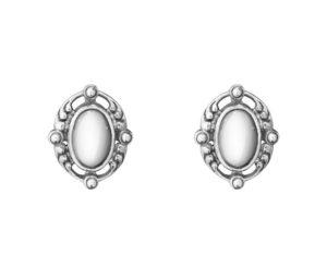georg jensen heritage 2018 silver clip earrings