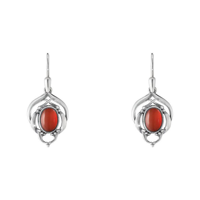 heritage2016carnelian earrings