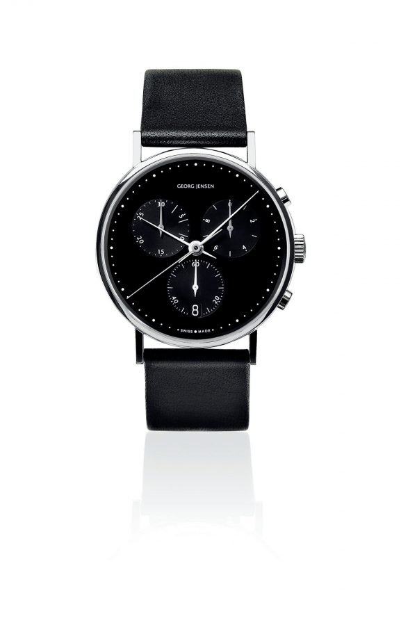 georg jensen koppel 317 chronograph quartz watch