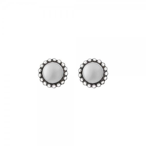 moonlight blossom silver earstuds