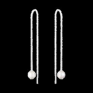 georg jensen moonlight grapes white pearl threader earrings