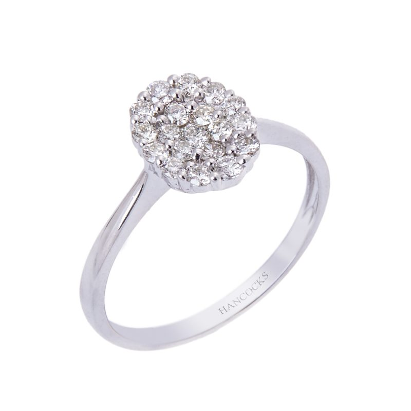 white-gold-oval-diamond-cluster-ring