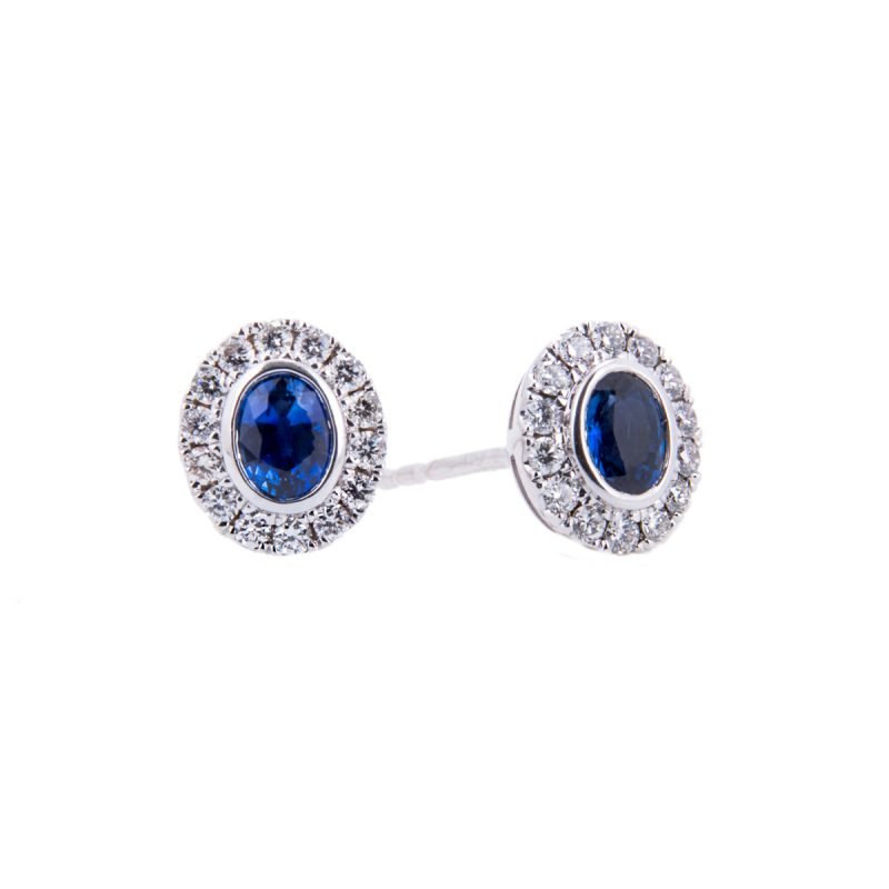 halo-set0sapphire-and-diamond-earrings