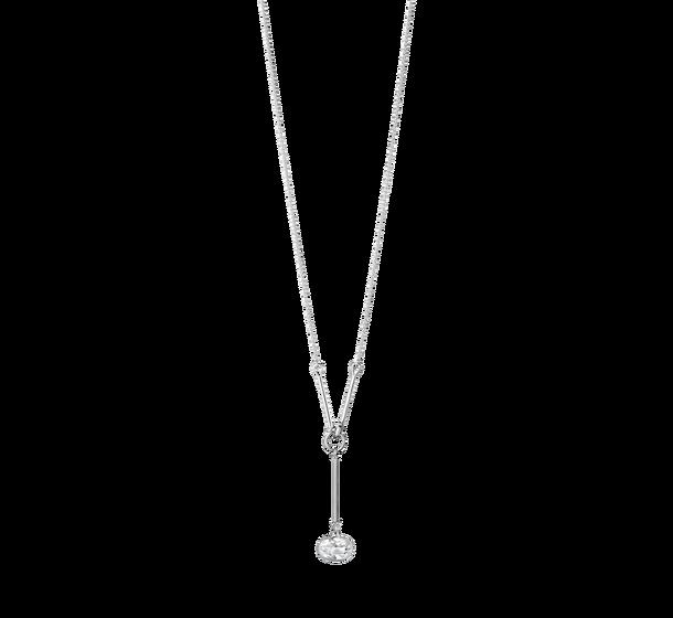 georg jensen savannah rock crystal long drop pendant