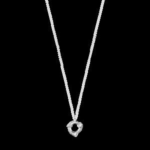 georg jensen magic white gold and diamond set pendant
