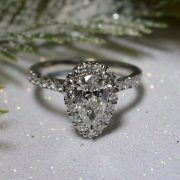 platinum-halo-set-pear-cut-diamond-engagement-ring