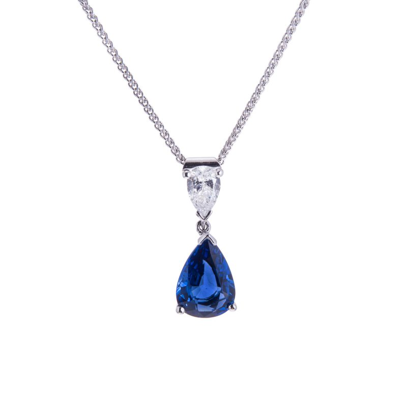 18ct-white-gold-sapphire-and-diamond-pendant