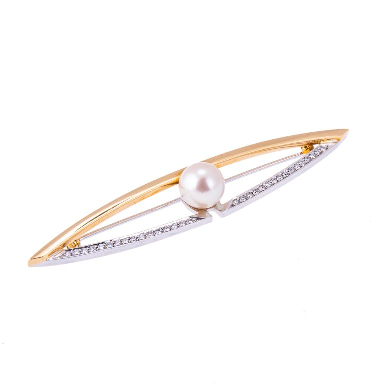 18ct-yellow-gold-pearl-and-diamond-brooch