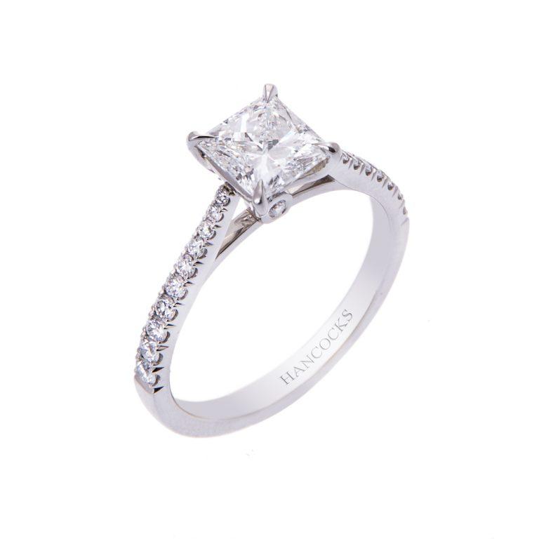 one-carat-princess-cut-diamond-ring