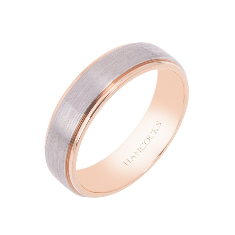 platinum-and-18ct-rose-gold-gents-wedding-band-hancocks-manchester