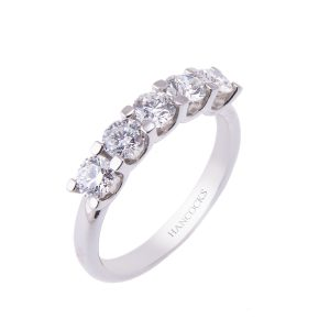 claw-set-diamond-half-eternity-ring