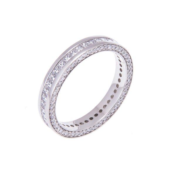 ladies-platinum-princess-cut-diamond-set-wedding-band