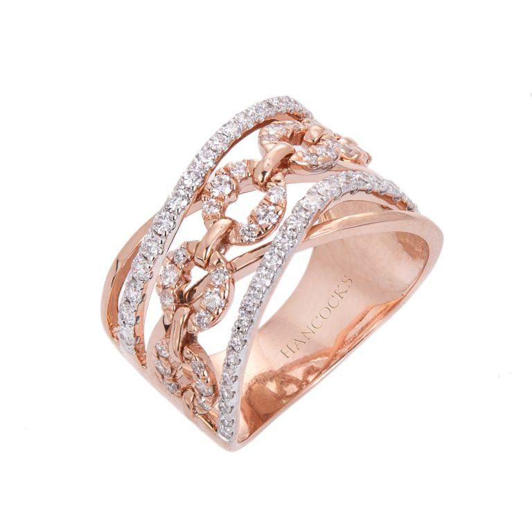 rose gold and diamond dress ring hancocks royal jewellery HC 100719 81