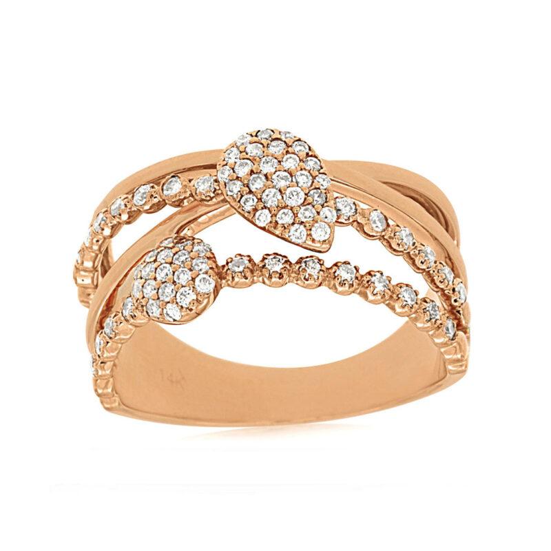 diamond-set-band-ring