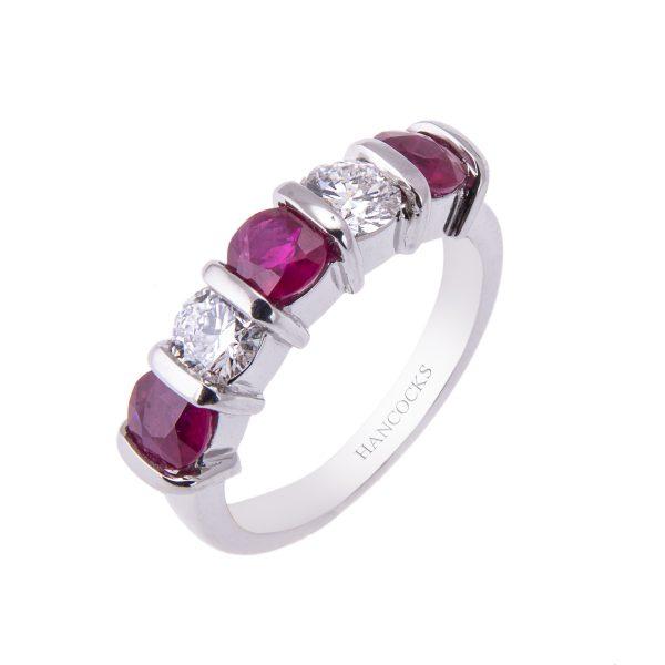 platinum-ruby-and-diamond-half-eternity-ring